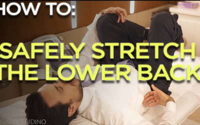 Safely stretching the lower back